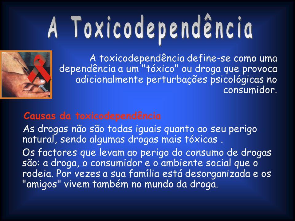 A Toxicodependência