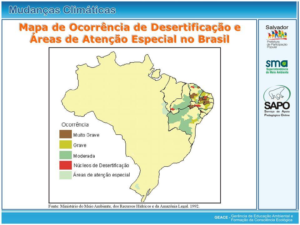 Áreas de Atenção Especial no Brasil