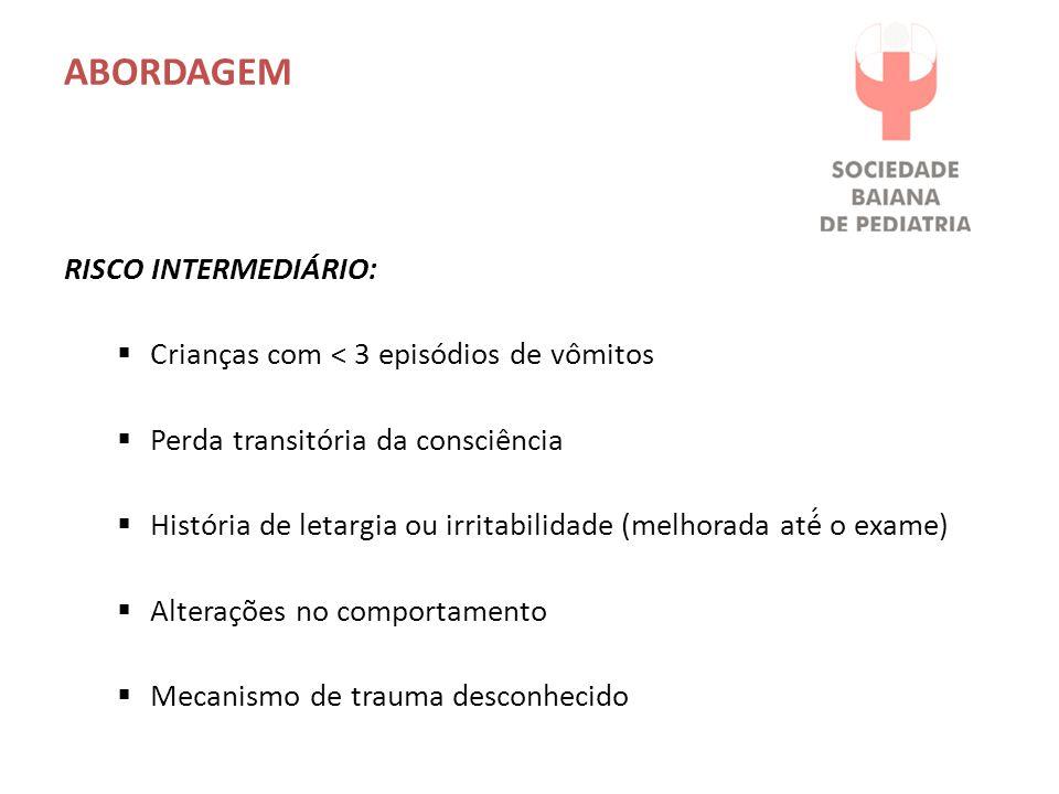ABORDAGEM Risco Intermediário: