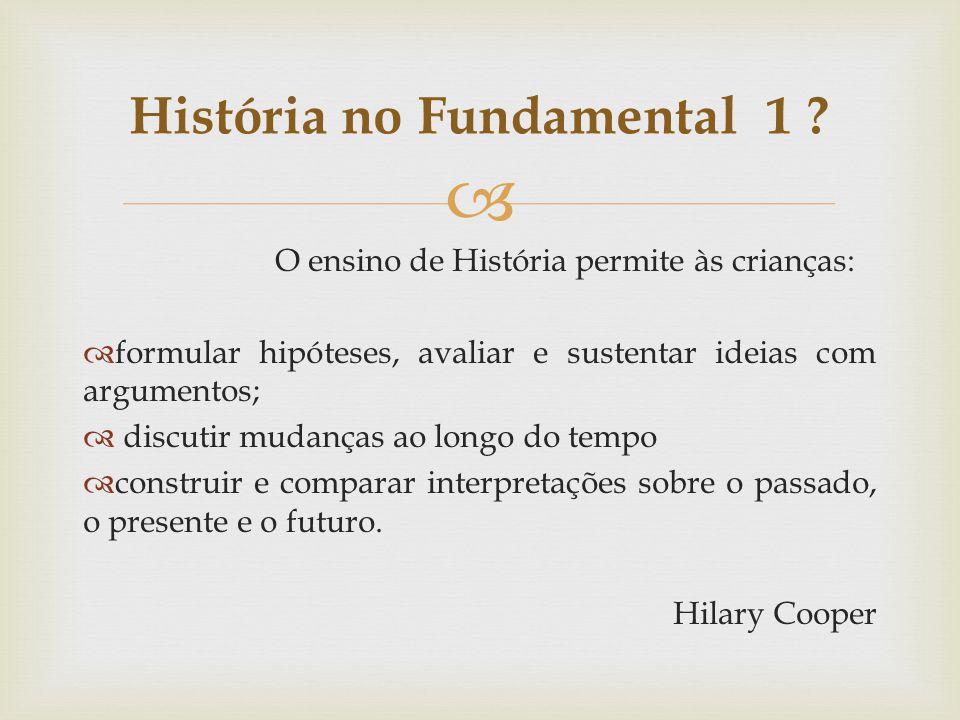 História no Fundamental 1