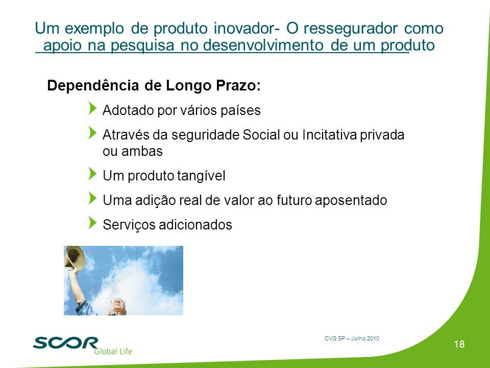 Um exemplo de produto inovador- O ressegurador como apoio na pesquisa no desenvolvimento de um produto