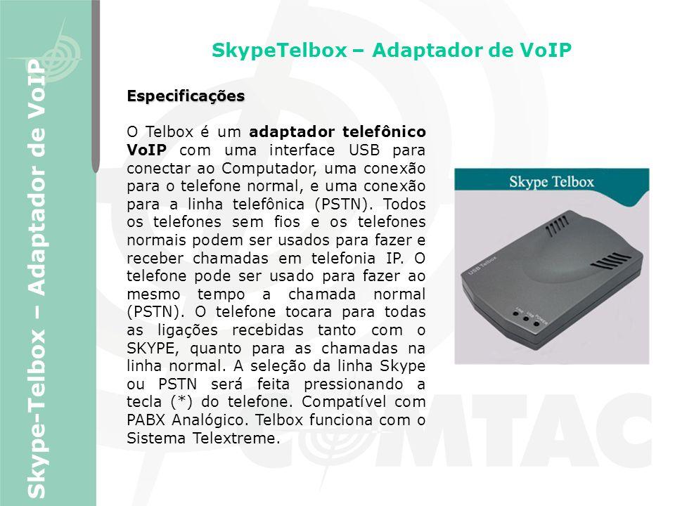 SkypeTelbox – Adaptador de VoIP