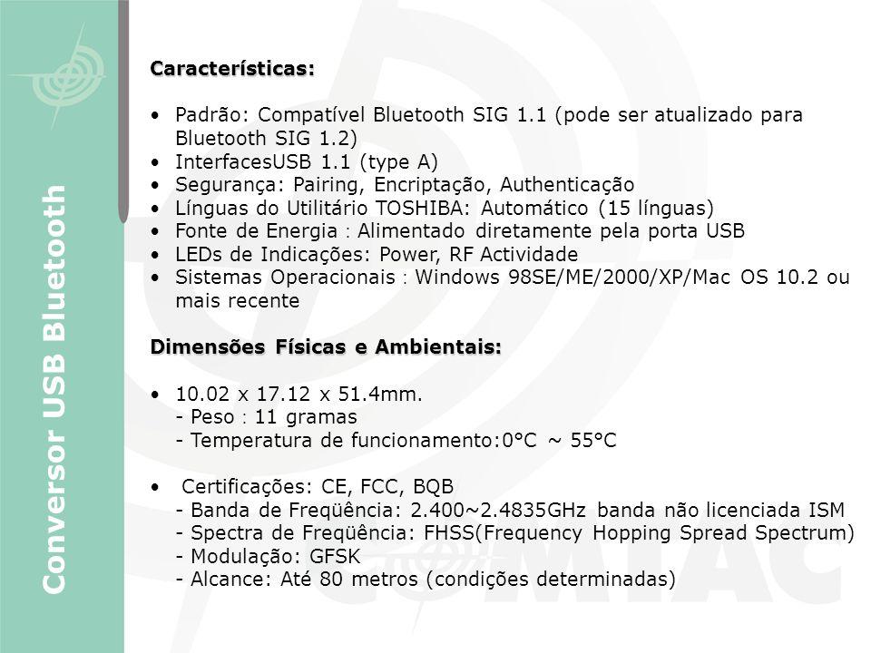 Conversor USB Bluetooth