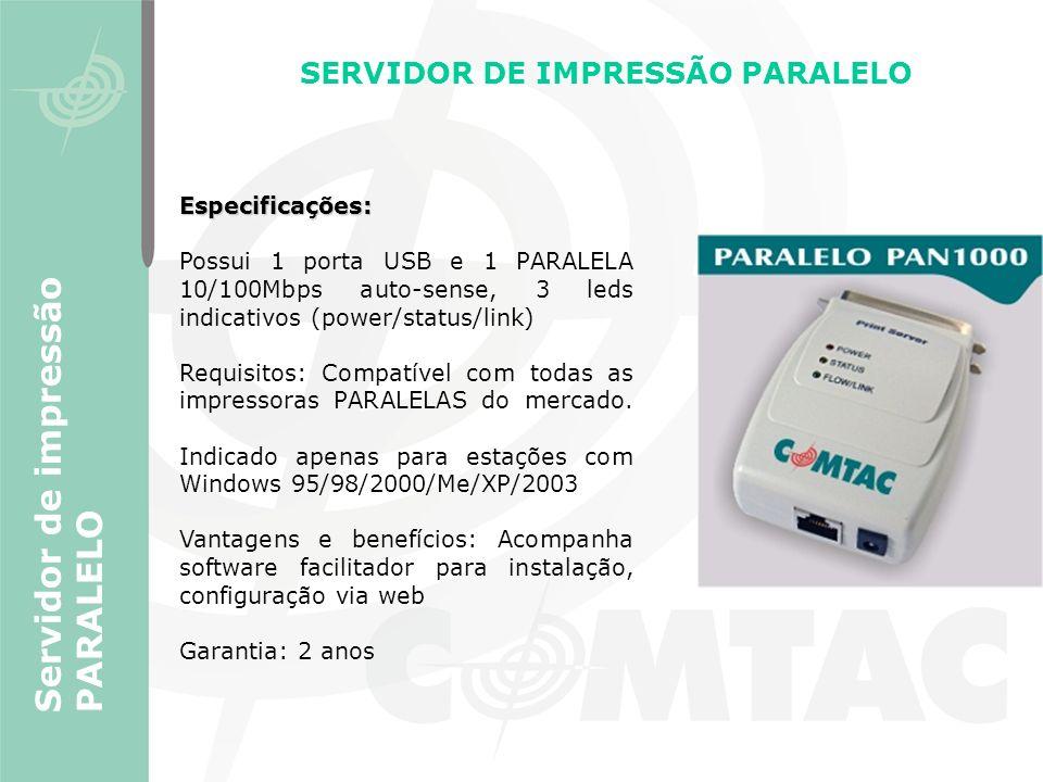 SERVIDOR DE IMPRESSÃO PARALELO