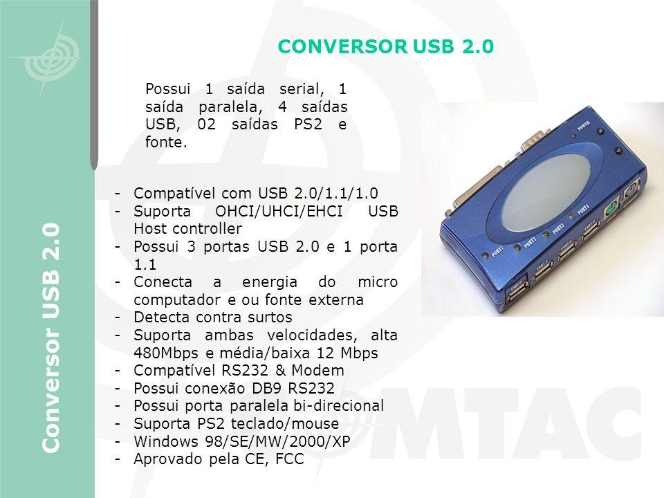 Conversor USB 2.0 CONVERSOR USB 2.0