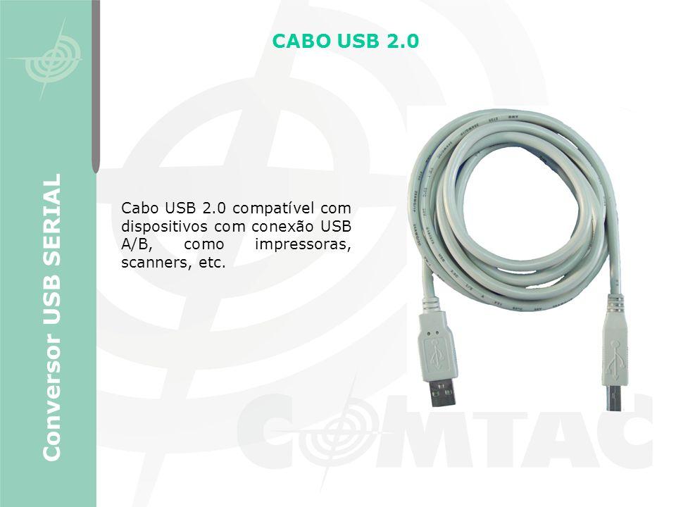 Conversor USB SERIAL CABO USB 2.0
