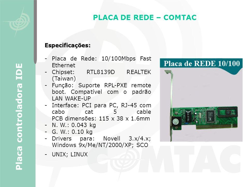 Placa controladora IDE