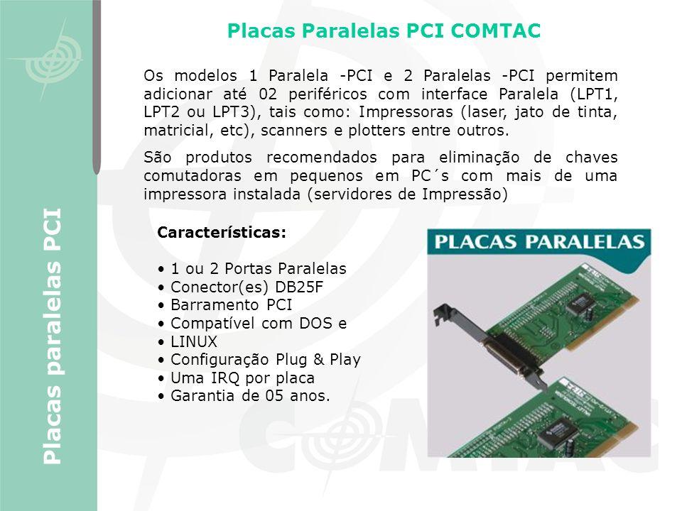 Placas Paralelas PCI COMTAC