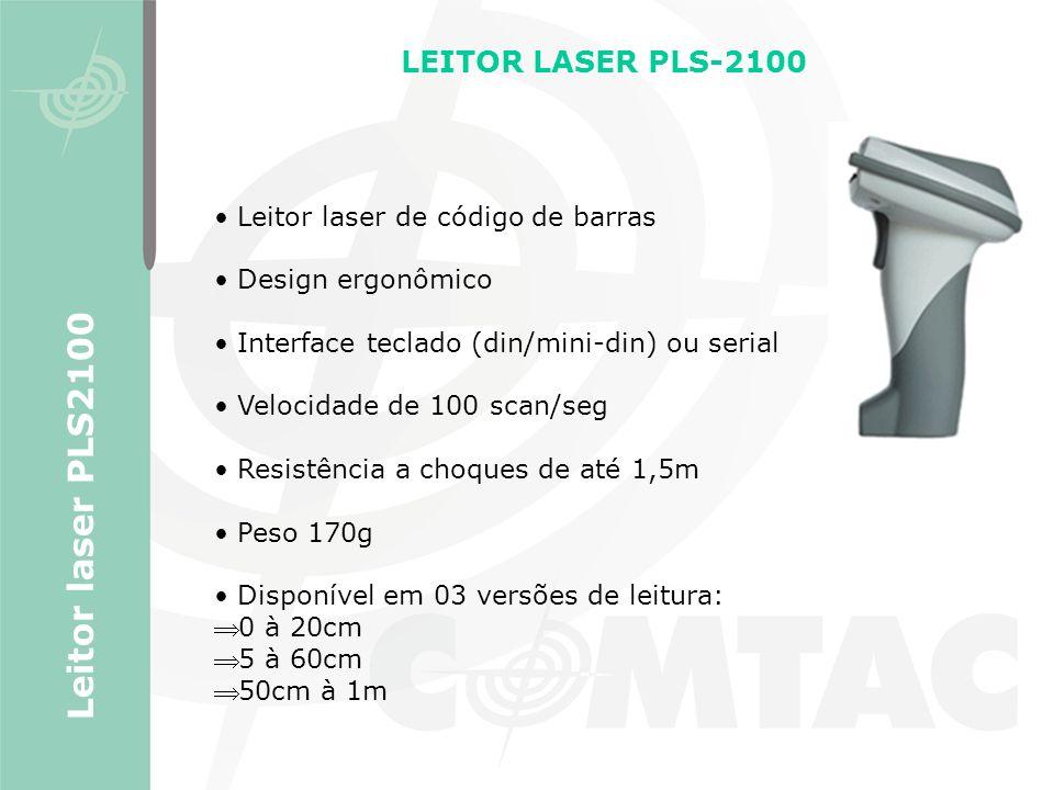 Leitor laser PLS2100 LEITOR LASER PLS-2100