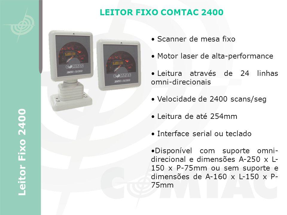 Leitor Fixo 2400 LEITOR FIXO COMTAC 2400 Scanner de mesa fixo