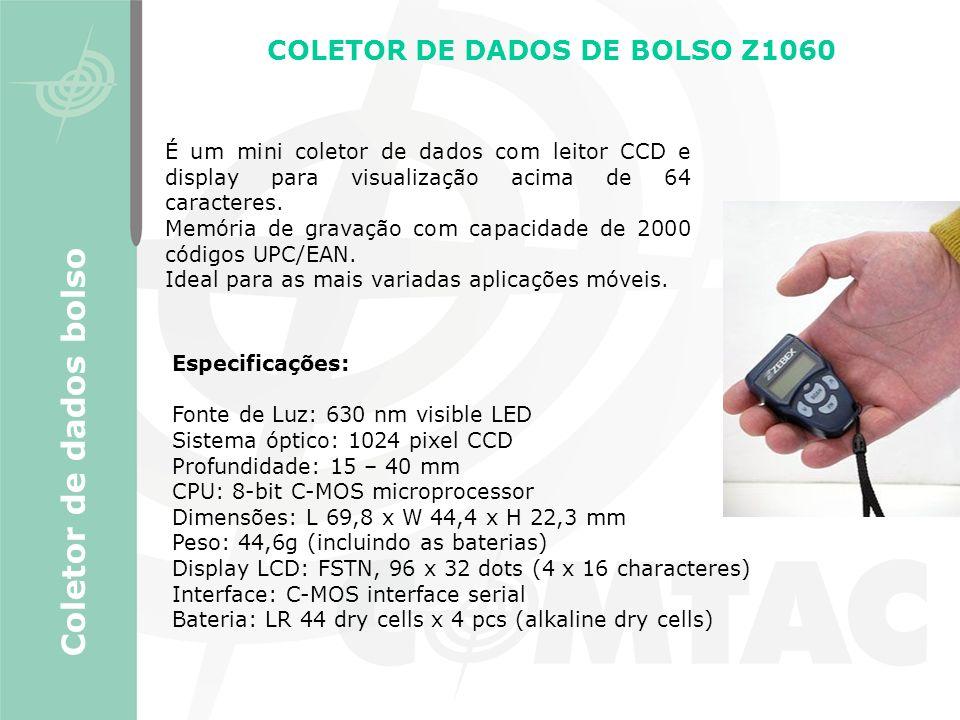 COLETOR DE DADOS DE BOLSO Z1060