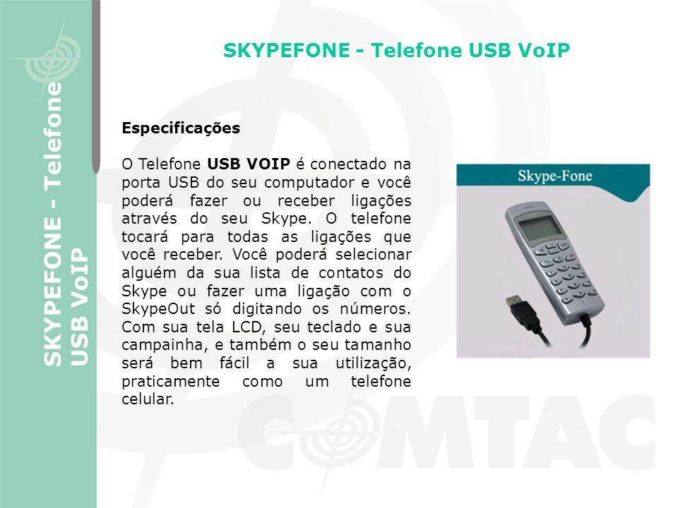 SKYPEFONE - Telefone USB VoIP