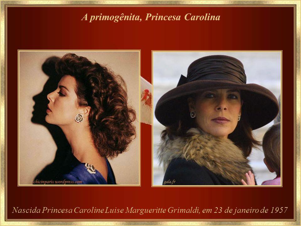 A primogênita, Princesa Carolina
