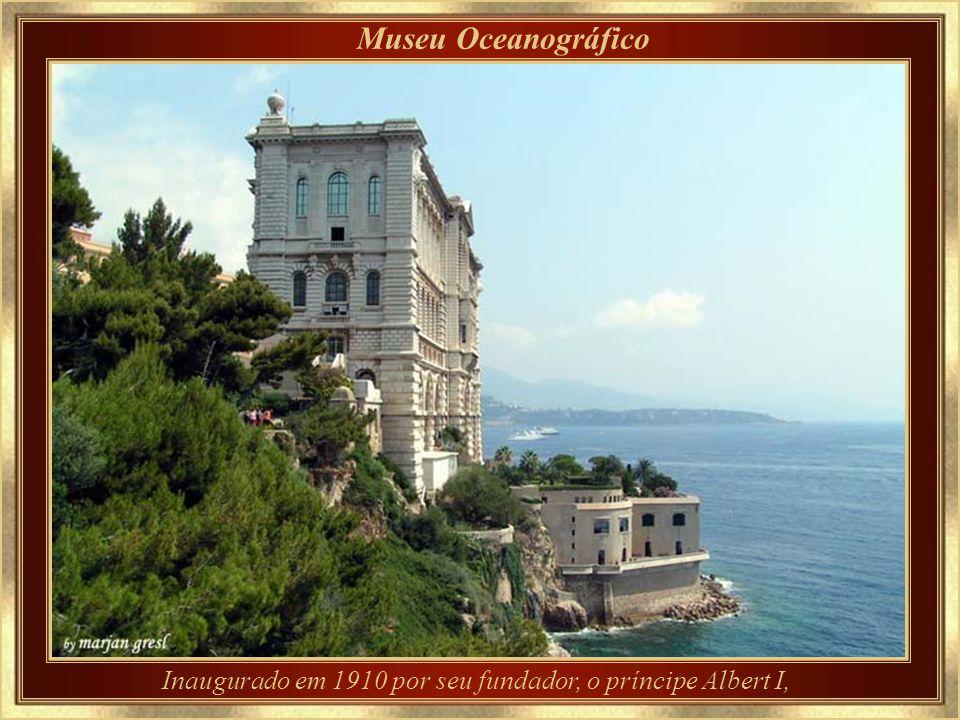 Inaugurado em 1910 por seu fundador, o príncipe Albert I,
