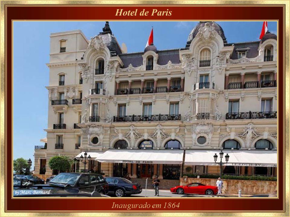 Hotel de Paris Inaugurado em 1864