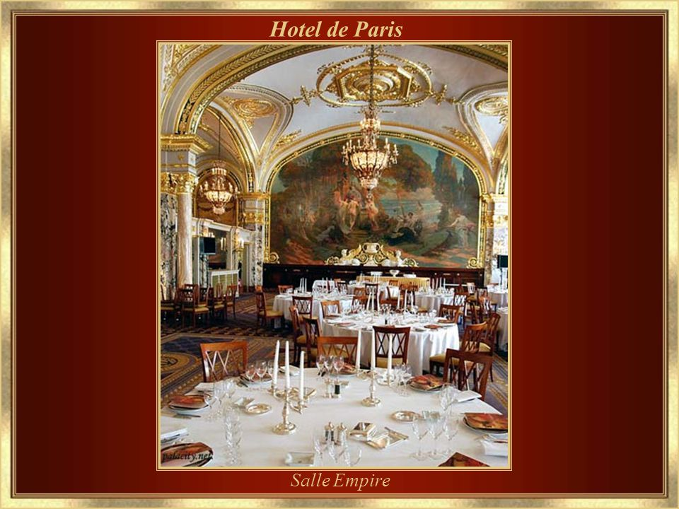 Hotel de Paris Salle Empire