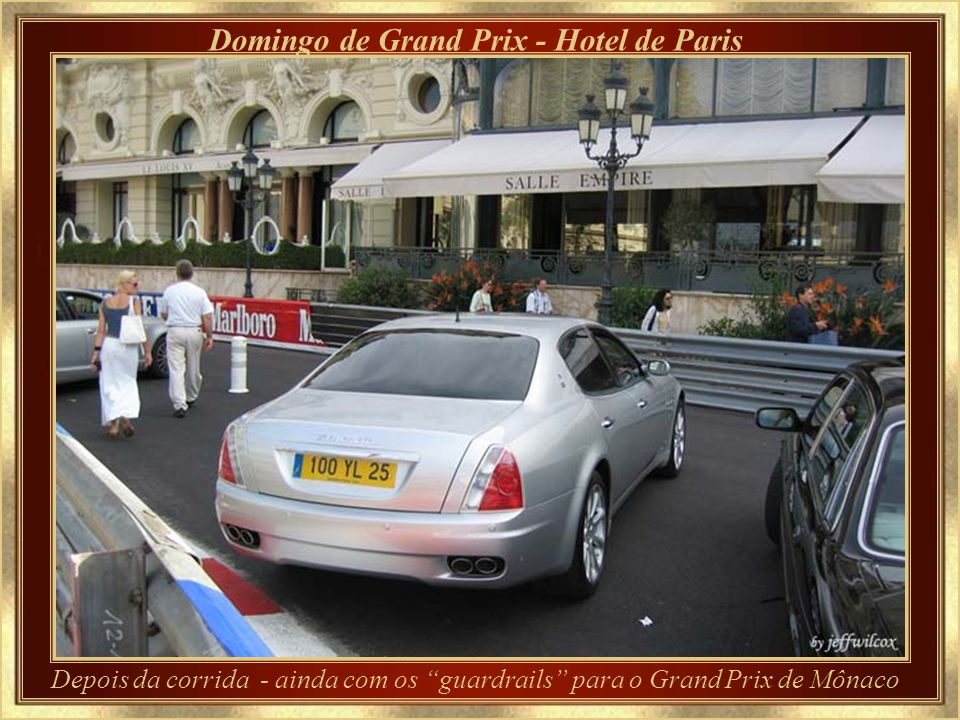 Domingo de Grand Prix - Hotel de Paris