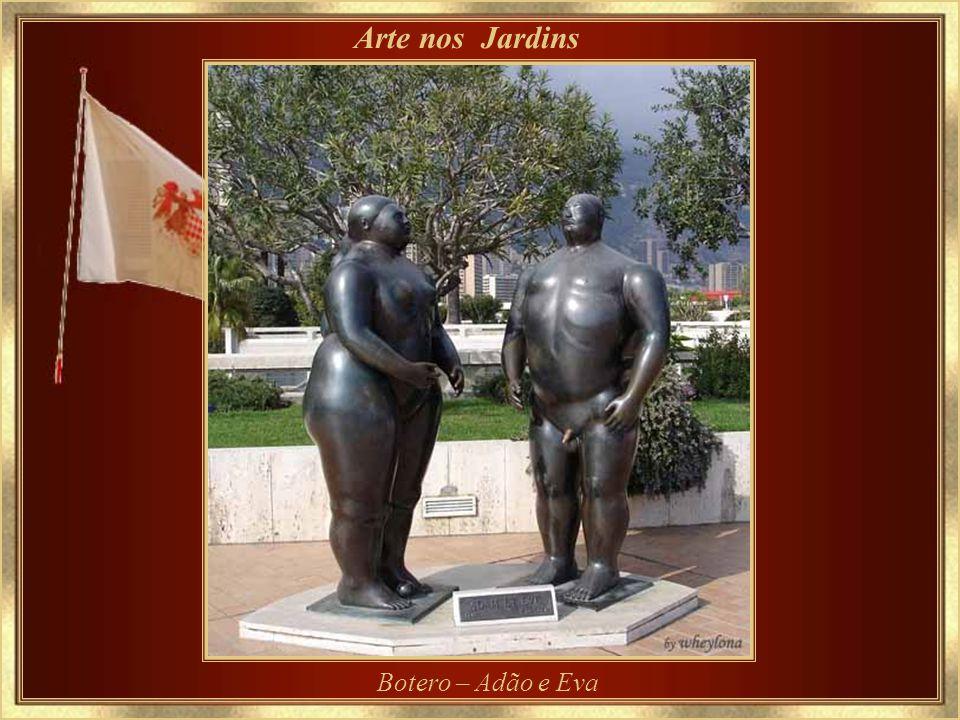 Arte nos Jardins Botero – Adão e Eva