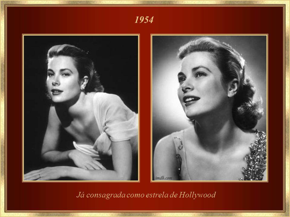 Já consagrada como estrela de Hollywood