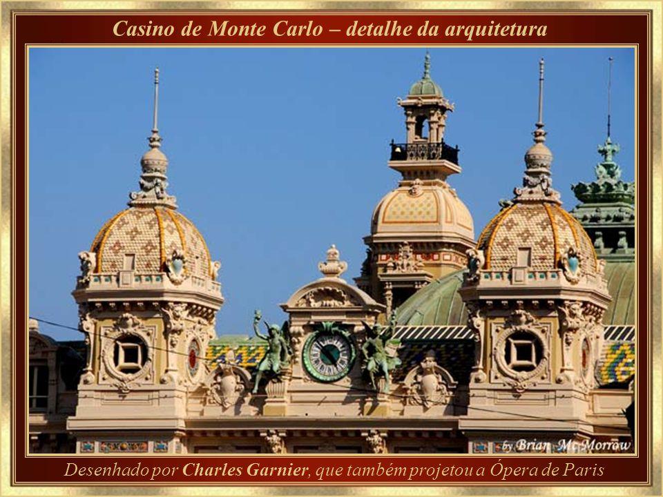 Casino de Monte Carlo – detalhe da arquitetura