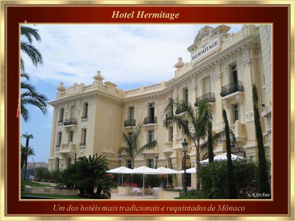Um dos hotéis mais tradicionais e requintados de Mônaco
