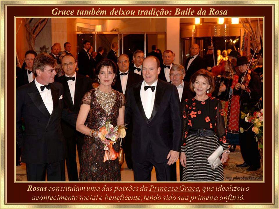 Grace também deixou tradição: Baile da Rosa