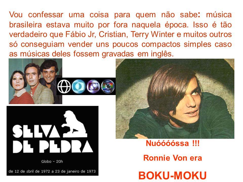 Vou confessar uma coisa para quem não sabe: música brasileira estava muito por fora naquela época. Isso é tão verdadeiro que Fábio Jr, Cristian, Terry Winter e muitos outros só conseguiam vender uns poucos compactos simples caso as músicas deles fossem gravadas em inglês.