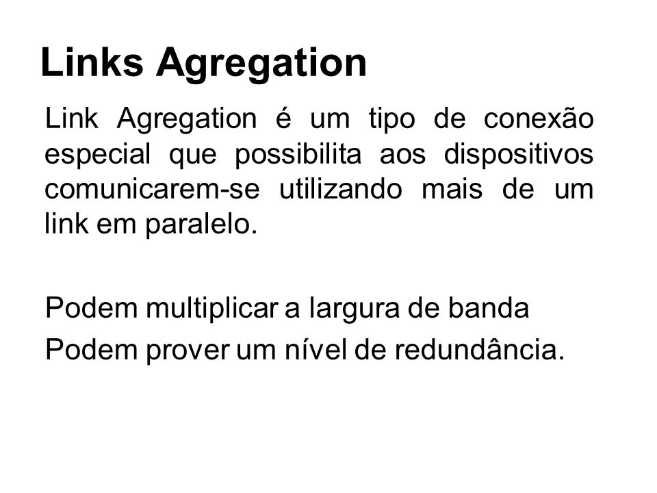 Links Agregation