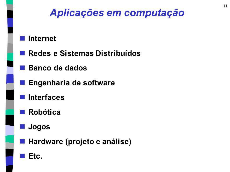 Aplicações em computação