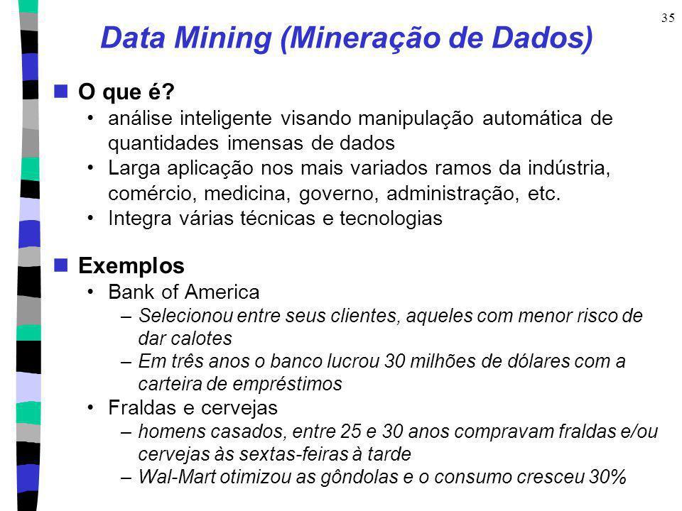 Data Mining (Mineração de Dados)