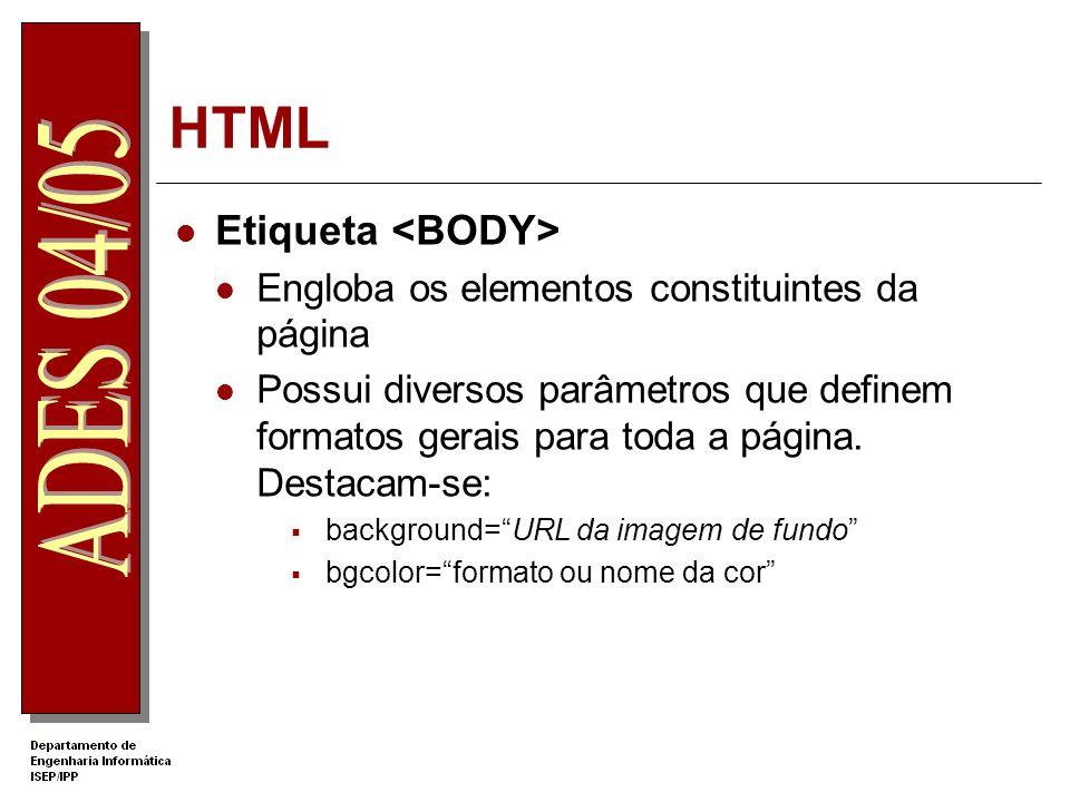 HTML Etiqueta <BODY>