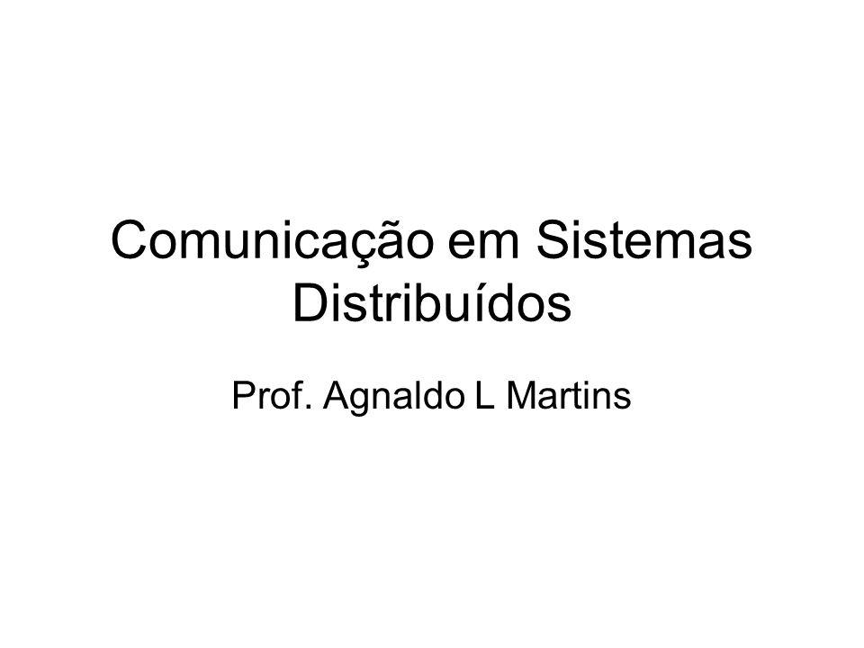 Comunicação em Sistemas Distribuídos