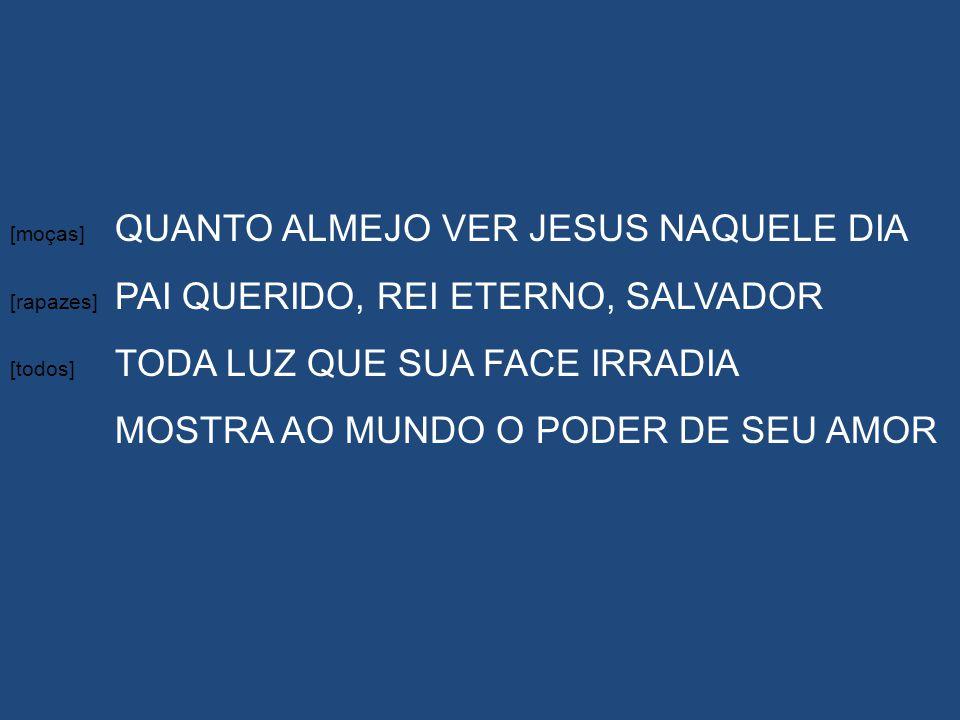 MOSTRA AO MUNDO O PODER DE SEU AMOR