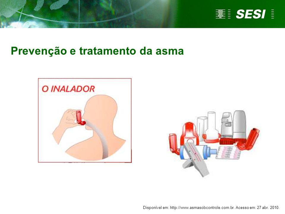 Prevenção e tratamento da asma