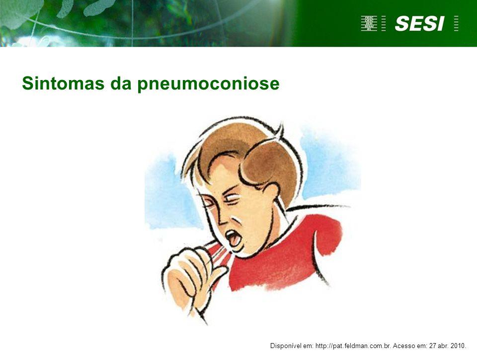 Sintomas da pneumoconiose