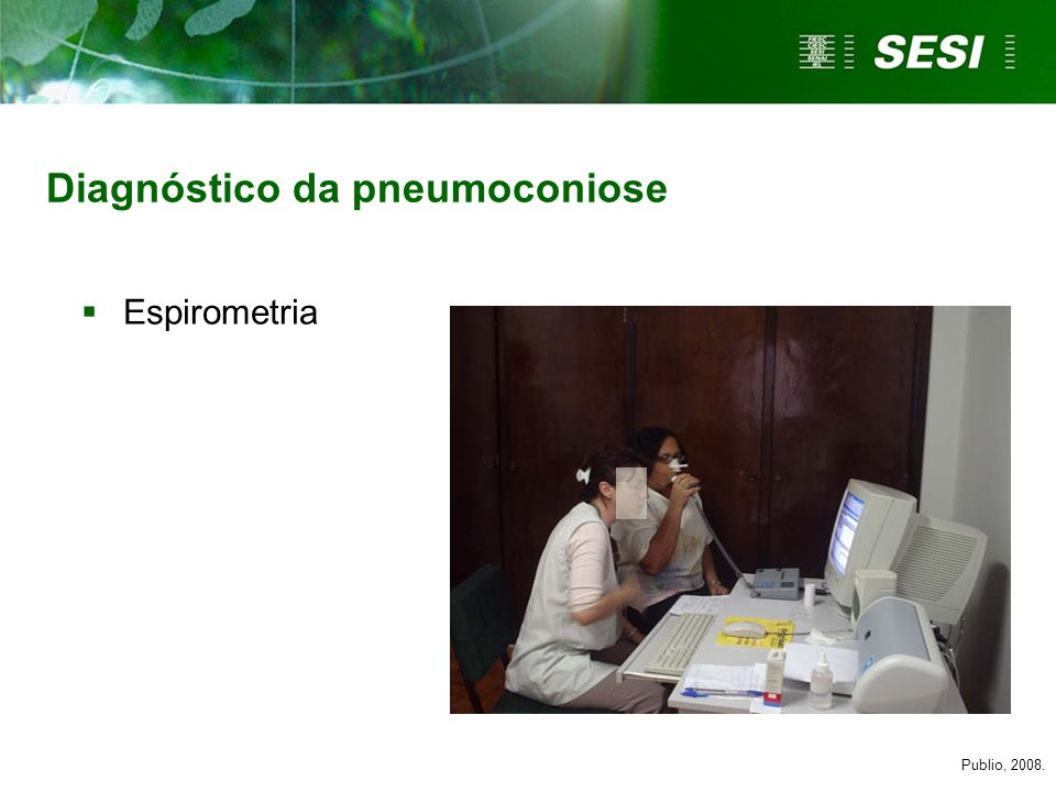 Diagnóstico da pneumoconiose