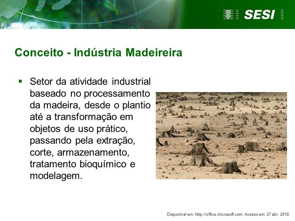 Conceito - Indústria Madeireira