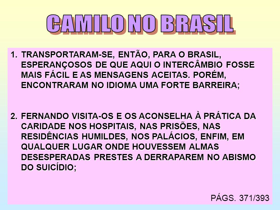 CAMILO NO BRASIL
