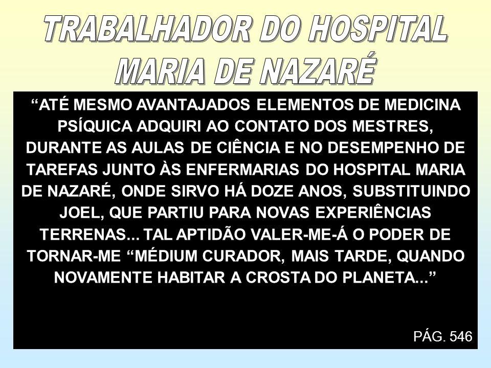 TRABALHADOR DO HOSPITAL