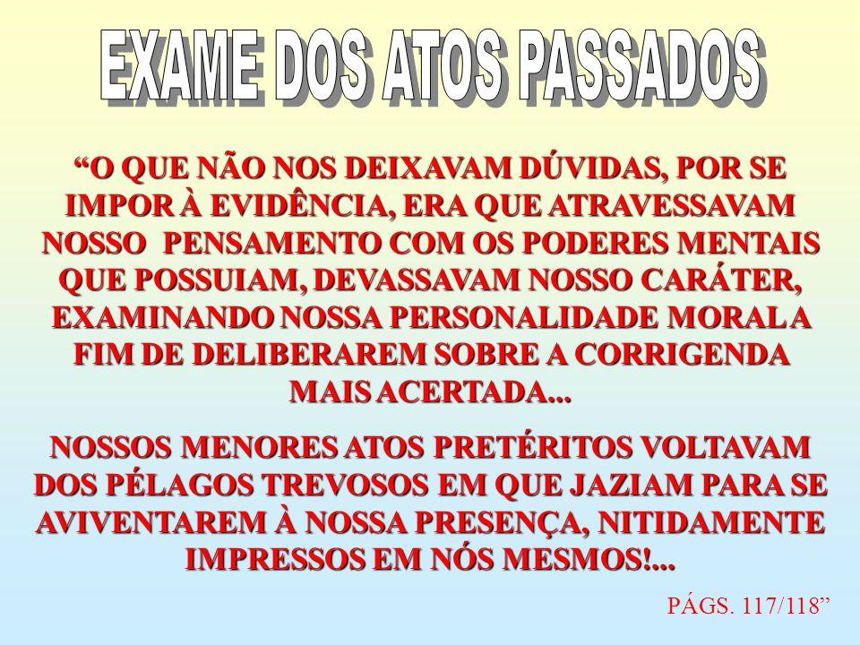 EXAME DOS ATOS PASSADOS