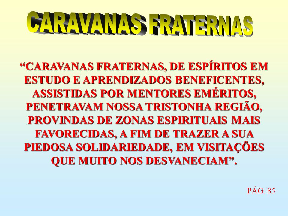 CARAVANAS FRATERNAS