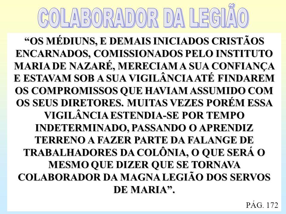 COLABORADOR DA LEGIÃO