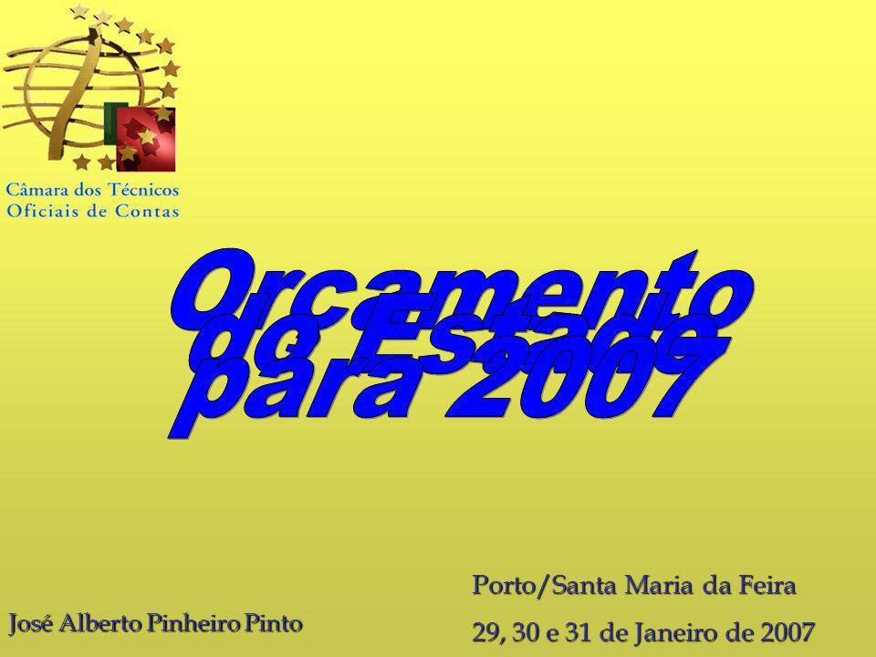 Orçamento do Estado para 2007 Porto/Santa Maria da Feira
