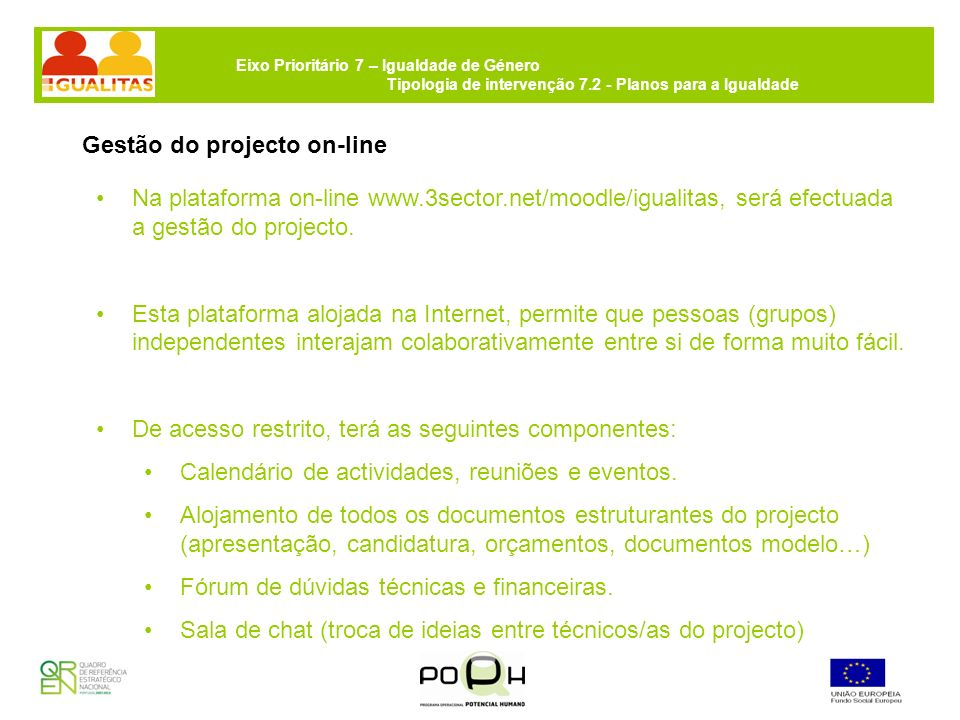 Gestão do projecto on-line