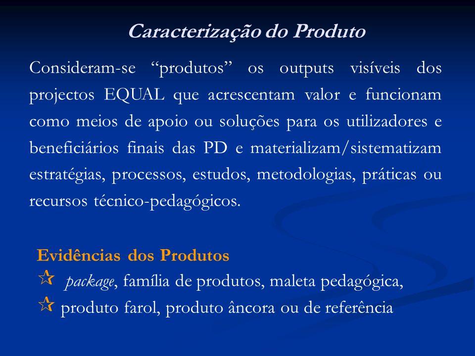 Caracterização do Produto