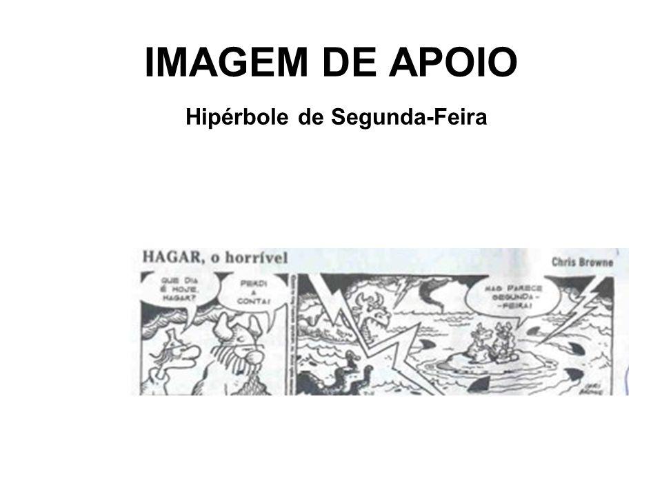 IMAGEM DE APOIO Hipérbole de Segunda-Feira