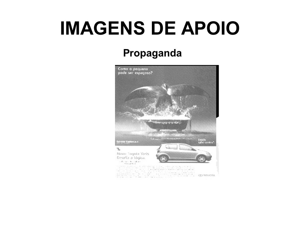 IMAGENS DE APOIO Propaganda