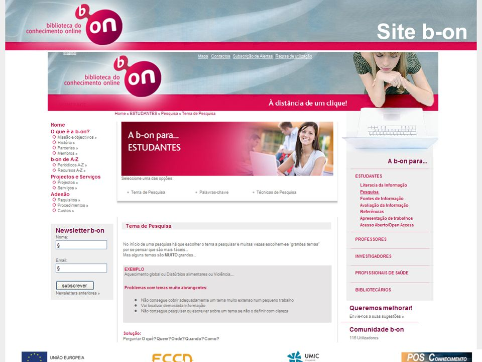 Site b-on