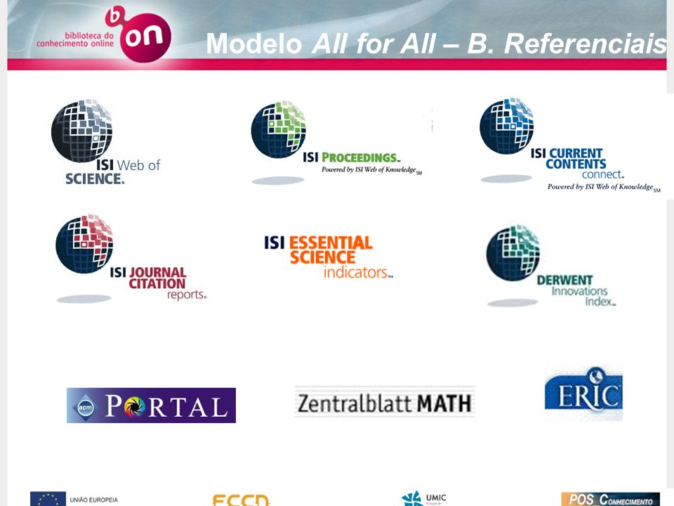 Modelo All for All – B. Referenciais