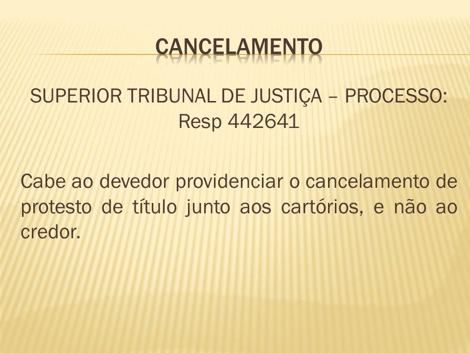 cancelamento
